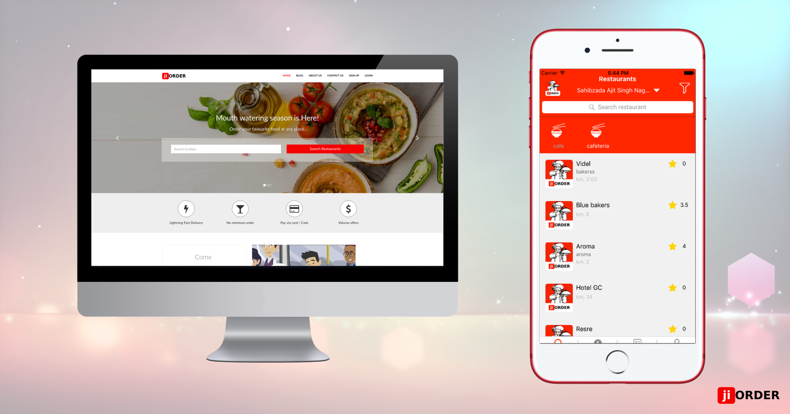 jiOrder Overrules the Offline Food Industry