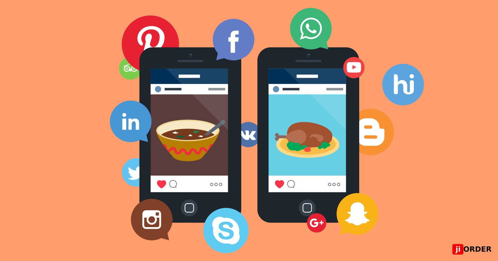 Make Your Restaurant Stand Out Using Social Media!