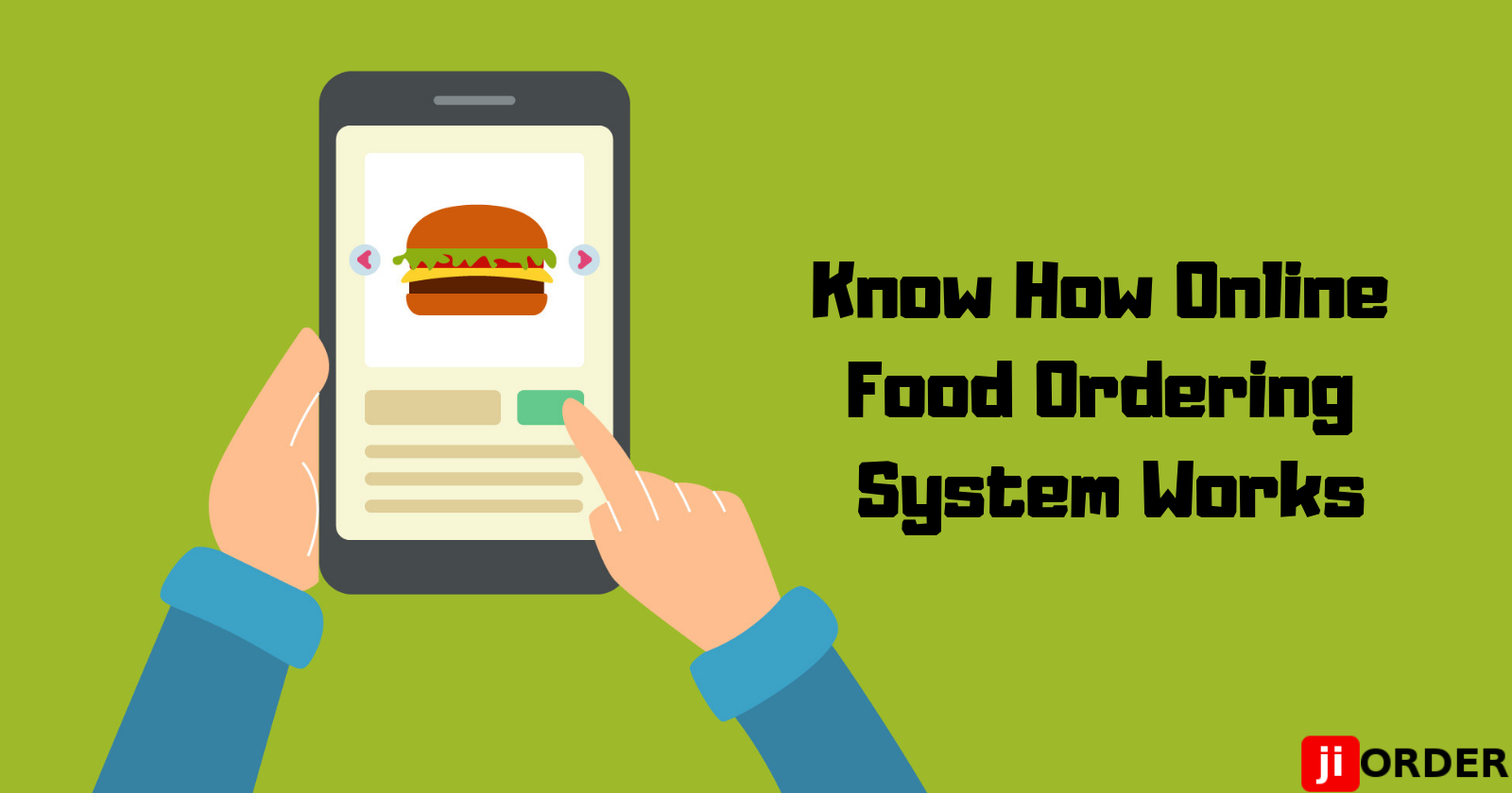 Know How Online Food Ordering System Works